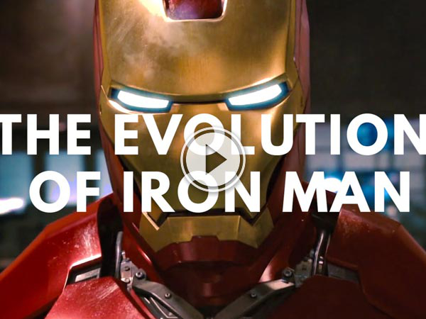 Iron Man is a common fixture for us now but he wasn't always and he used to look a lot different