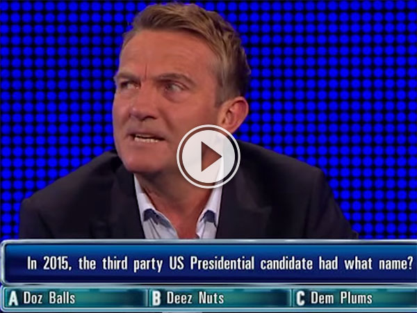 Deez Nuts on The Chase (Video)