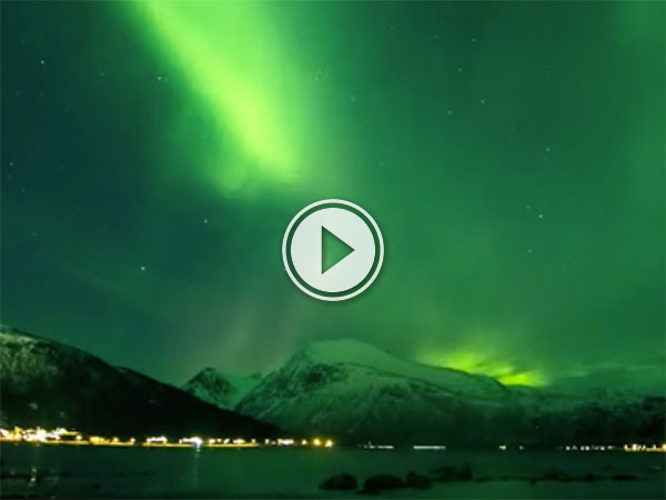 Northern Lights over Norway (Video)