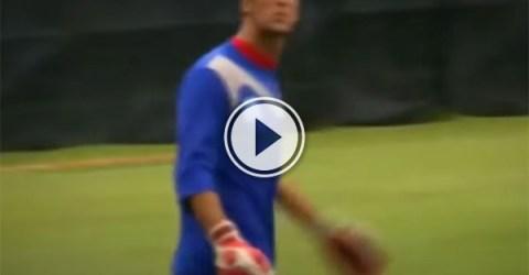 Goalkeeper scores hilarious own goal (Video)