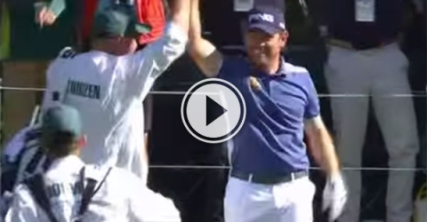 Incredible hole in one at Masters (Video)