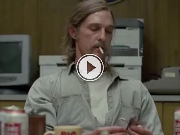 True Detective cigarette counter (Video)