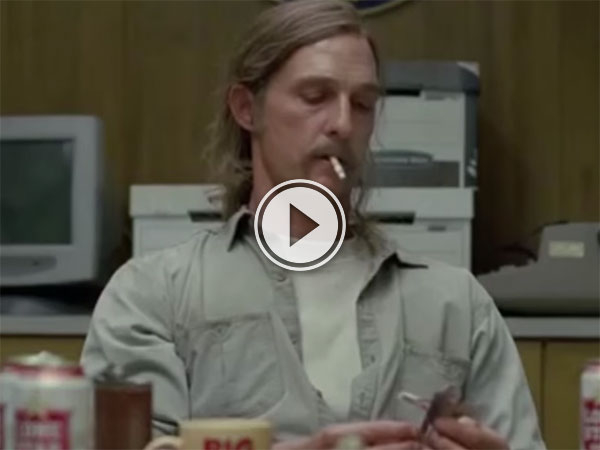 True Detective cigarette counter (Video)