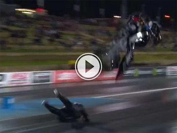 Motorbike flip in Australia (Video)