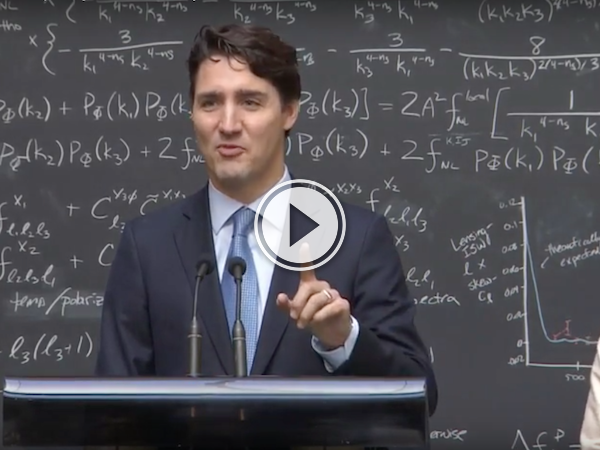 Reporter tries to stump Trudeau; Trudeau answers like a boss (Video)