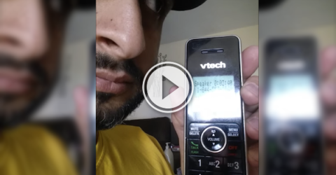 Dude records a scammer pretending to be from the CRA (Video)