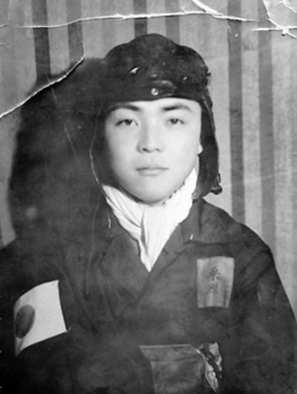 Old photograph of a Japanese Soldier