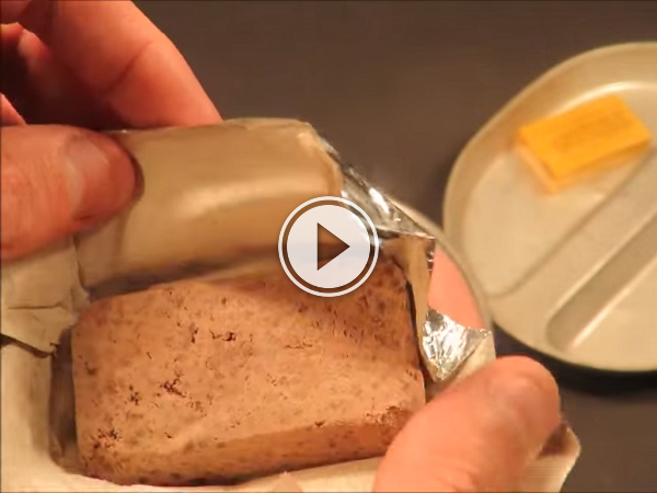 Ever wonder what Canadian WWII food kits tasted like? (Video)