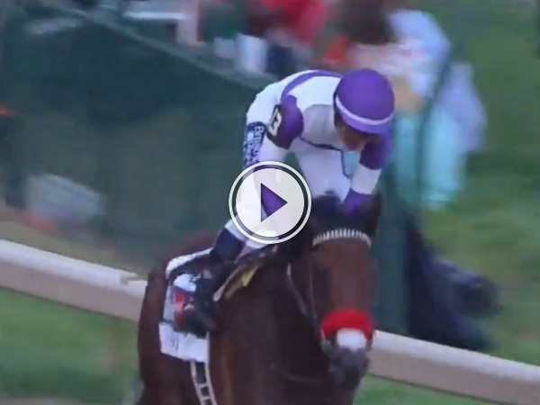 A Canadian horse wins one of horse racing's biggest events! (Video)
