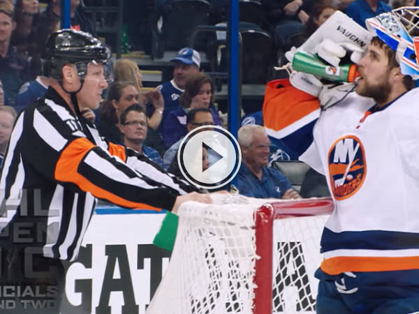 What does it sound like on ice level in the NHL playoffs? (Video)