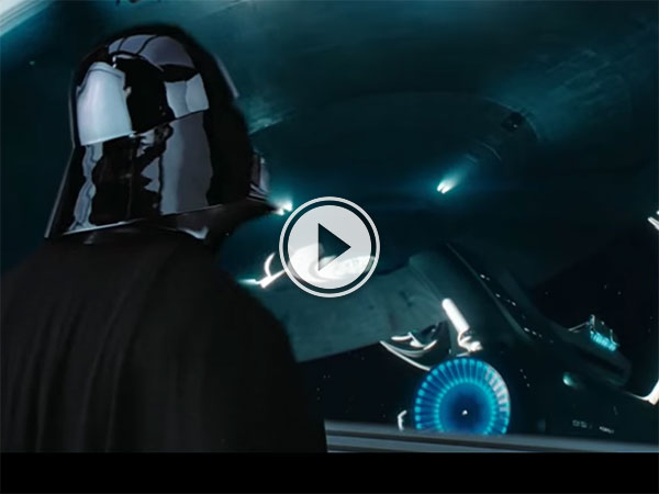 Space movie mash up into one film (Video)