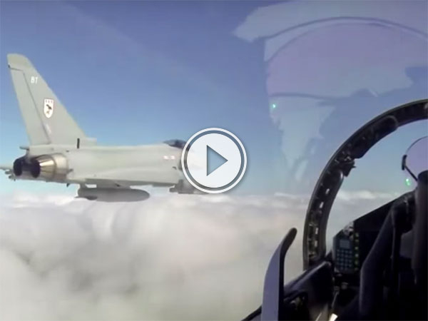 RAF Typhoon goes Mach in the Lake District (Video)