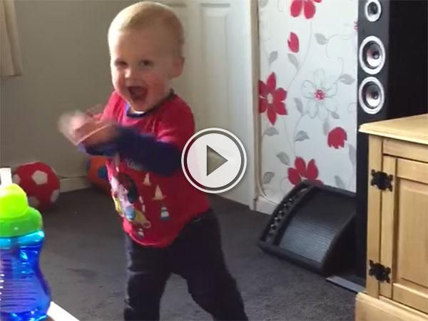 Little Boy Rocks Out to Heavy Metal (Video)