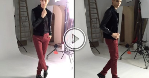 The fastest model to ever model (Video)