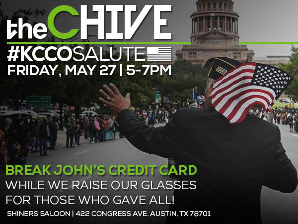 The Chive KCCO Salute for those who gave all