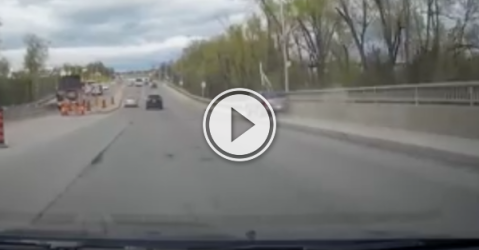 Toronto driver's collecting accidents like they're candy! (Video)