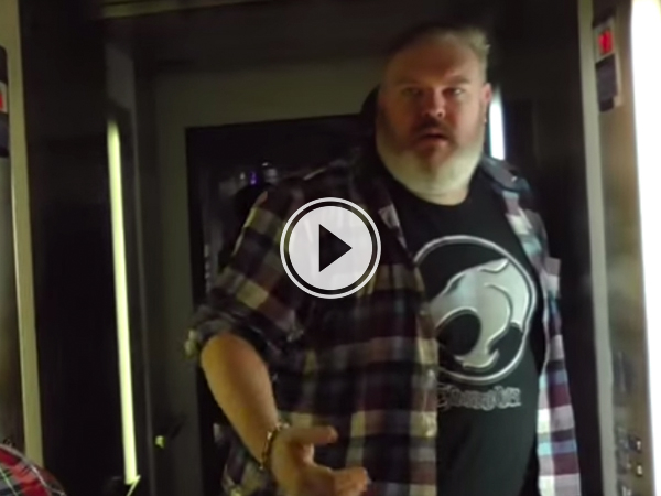 Video grab of 'Hold the door'  featuring George RR Martin.