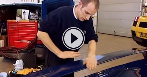 Paul Dalton is the master when it comes to cleaning cars, and not just any cars.