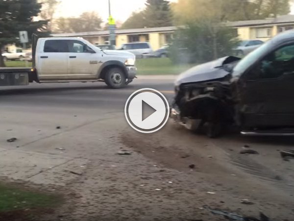 Sometimes a hit and run requires you to actually run (Video)