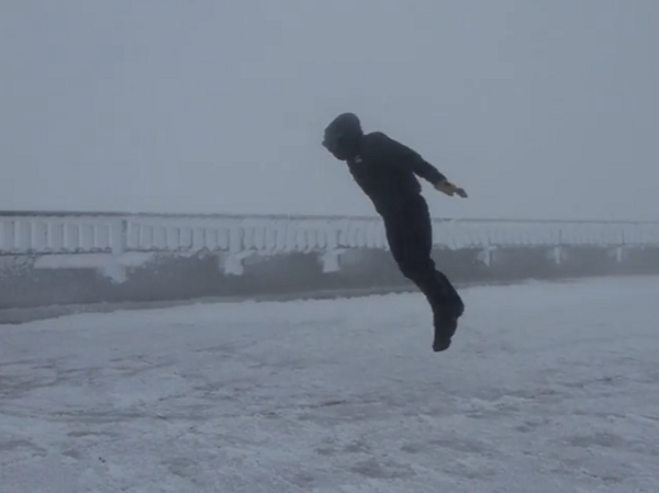 When it's this windy out- suit up, and get the camera (Video)