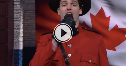 Colbert just updated the Canadian anthem to make it more, Canadian? (Video)