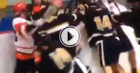 Nothing like a lacrosse brawl to start off your Monday (Video)