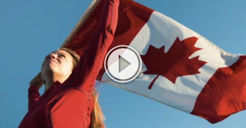 Who knew our Canadian anthem could become more Canadian? (Video)