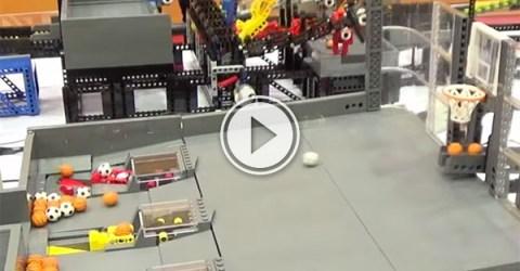 Ball sorting machine is oddly mesmerising (Video)