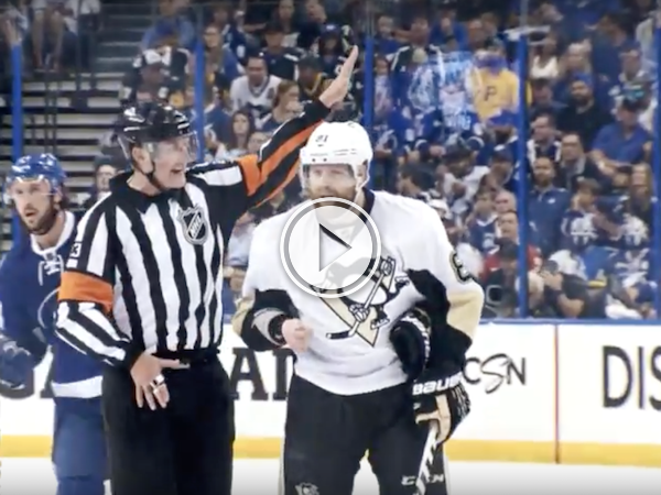 Ever wonder what hockey refs are saying on the ice? Wonder no more! (Video)