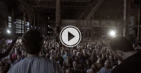 Sometimes you just need a thousand voices singing together... (Video)