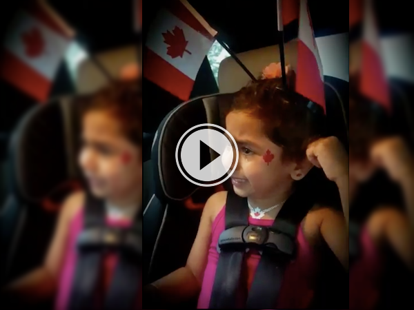 Cute kid's sad she won't meet a member of Parliament! (Video)