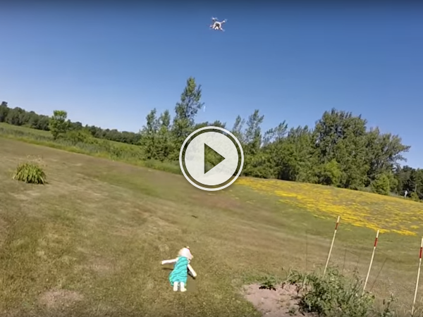 Using drones to pull teeth might not be the best method! (Video)