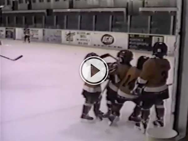 Kid delivers the cutest cross check in hockey history (Video)