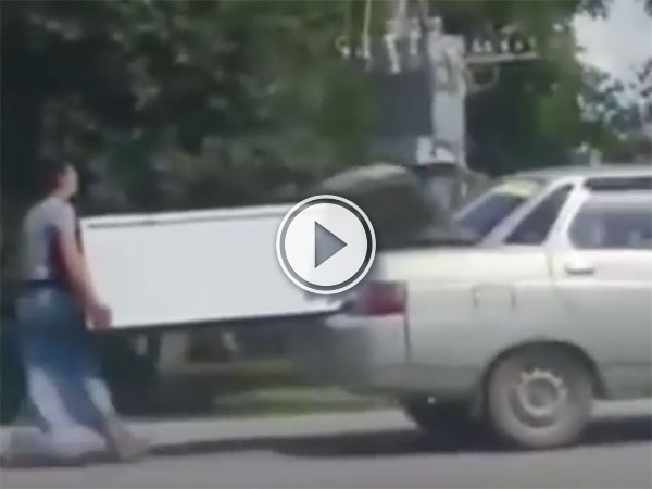 Meanwhile, in Kazakhstan.... (Video)