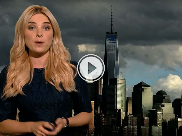 Weather Girl gives Ghostbusters-Themed Weather Report (Video)