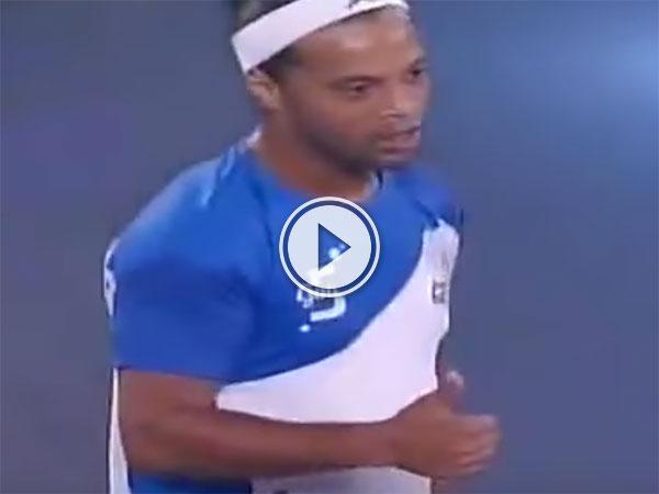 Ronaldinho scores 5 goals for Goa in Futsal India (Video)