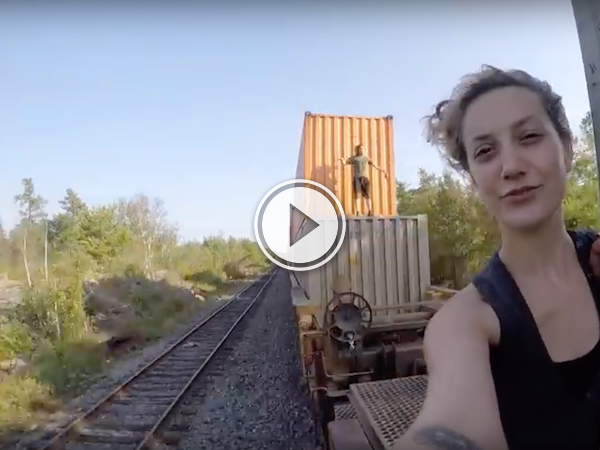 This guys got the right idea; see Canada by freight train! (Video)