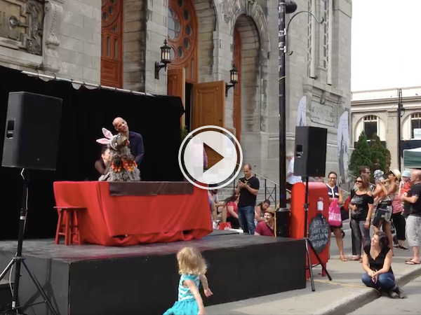 In Quebec, we get inappropriate and NSFW puppet shows! (Video)