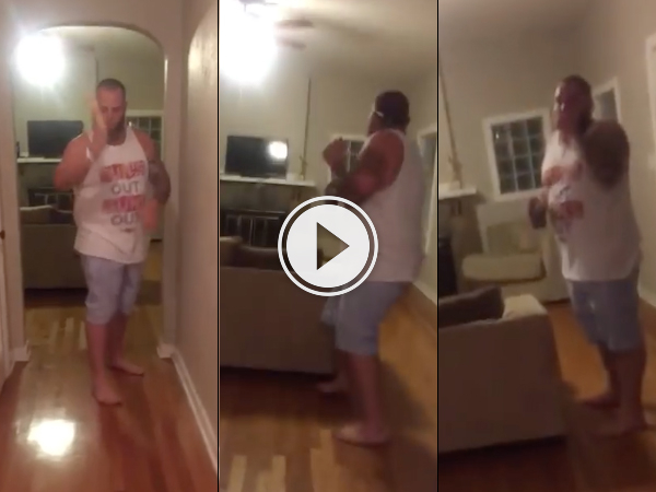 When kicking dildos goes wrong (Video)