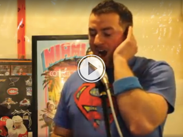 Every day should start off with a dude singing Disney like Adam Sandler (Video)