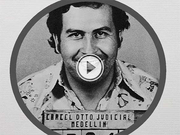 Pablo Escobar's wealth and empire visualised (Video)