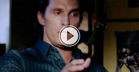Matthew McConaughey Telling Stories (Video)