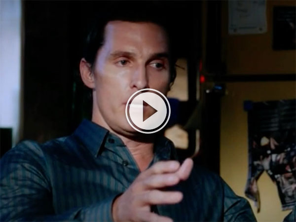 Matthew McConaughey Telling Stories (Video)