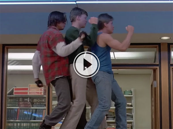 Awesome dancing in 80's movies tribute (Video)
