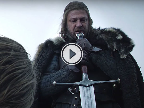 A tribute to Ned Stark: A Man of Honour (Video)