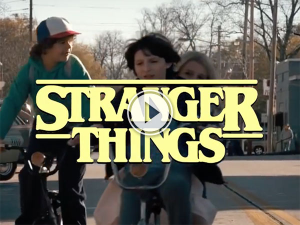 Awesome Stranger Things 80's sitcom intro (Video)
