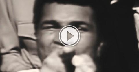 Epic Muhammad Ali tribute (Video)