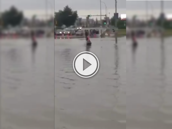Wonder if this guy is offering a Jet Ski taxi service? (Video)