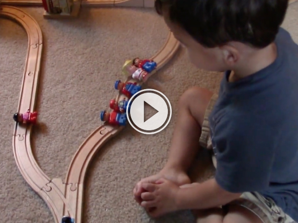 A two-year-old solves a moral dilemma (Video)
