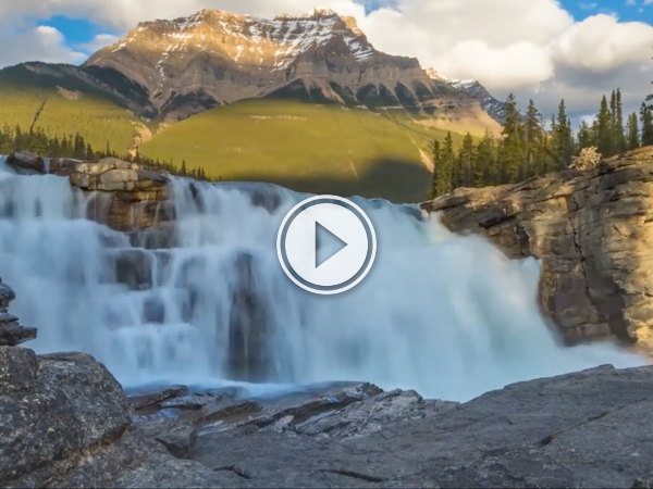 Forget it's Monday with his gorgeous time-lapse of Canada's landscape! (Video)